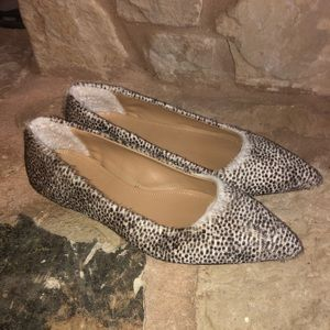 UGG Collection Linda Spotted Calf Hair Flats Shoes